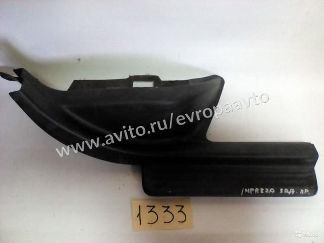 Subaru Impreza накладка порога задняя правая