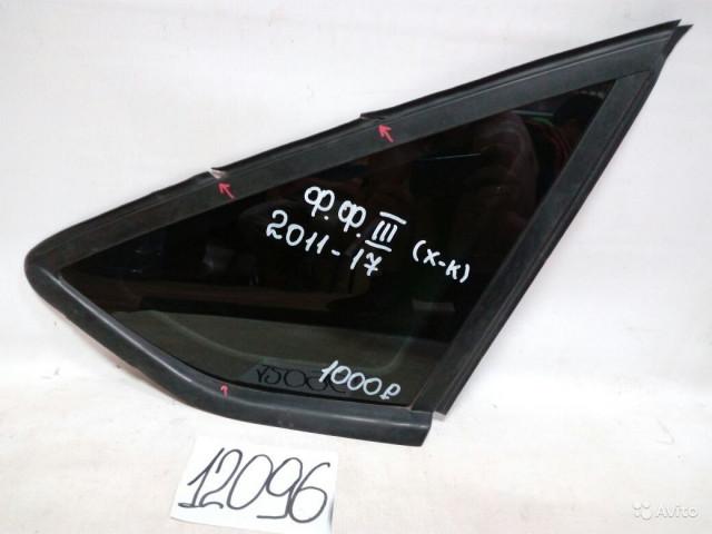Ford Focus 3 хэтчбек Форточка задняя правая