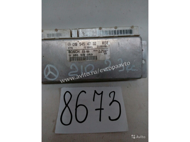 Mercedes C E W210 электронный блок управления ЭБУ