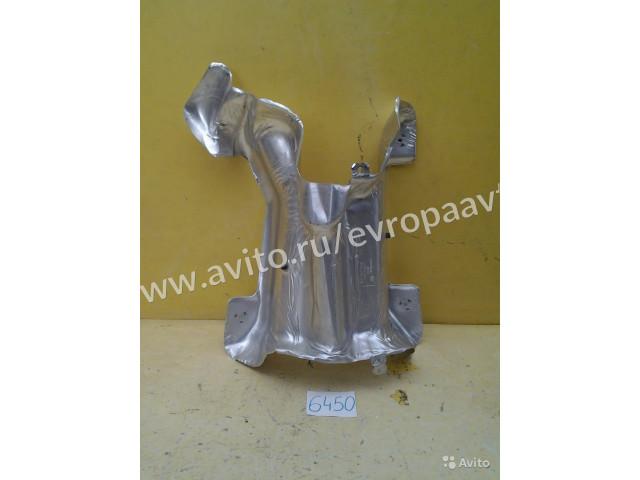 Skoda Yeti щиток защитный топливного бака