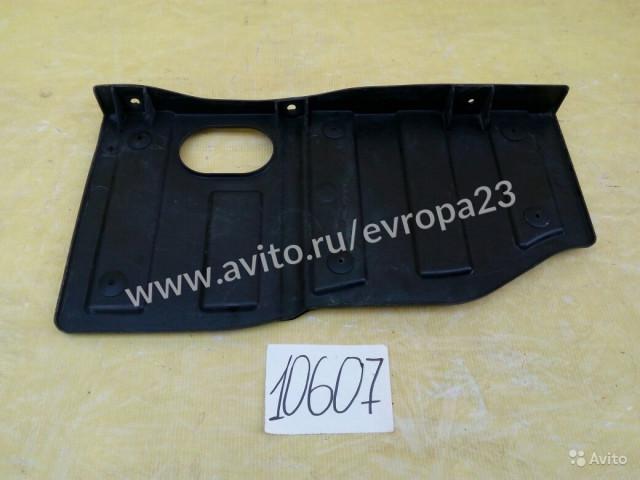 Hyundai i40 защита двигателя боковая правая