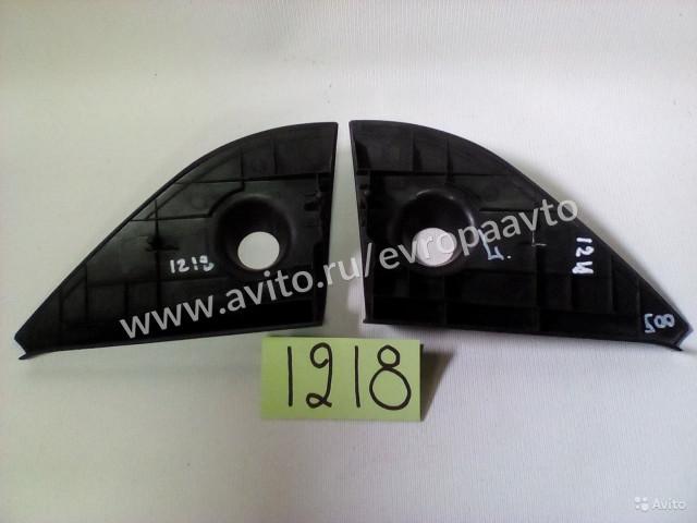 Chevrolet Aveo накладка боковых зеркал правая и левая