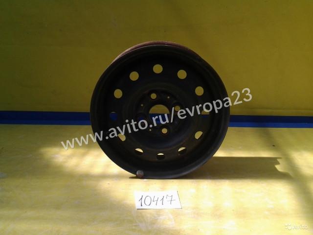 Диск колесный R13 штампованный