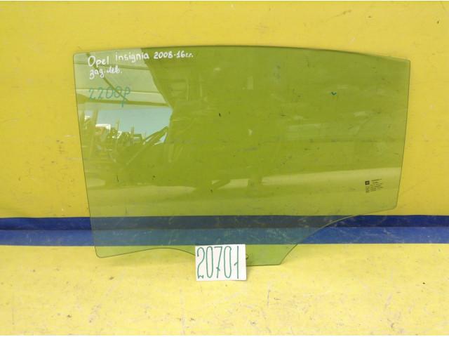 Opel Insignia стекло задней левой двери