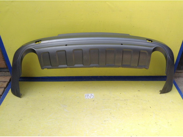Audi Q7 юбка губа заднего бампера
