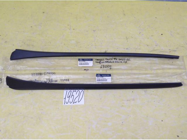 Hyundai Santa Fe молдинг лобового стекла