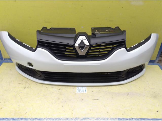 Renault Logan 2 Бампер передний цвет Белый код краски 369