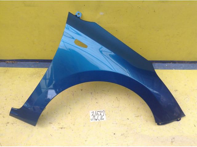 Hyundai Solaris Крыло переднее правое цвет Marina Blue код краски N4U