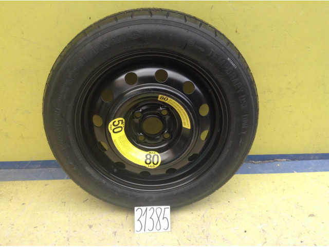Hyundai Solaris Докатка запасное колесо