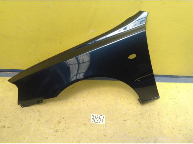 Hyundai Accent Крыло переднее левое с отверстием под повторитель цвет Синий код краски B04
