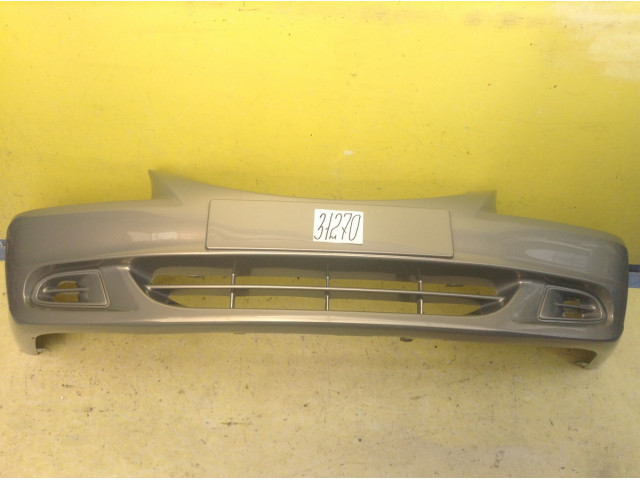 Hyundai  Accent Бампер передний без отверстия под ПТФ цвет Мусковит код краски H0-7 металлик