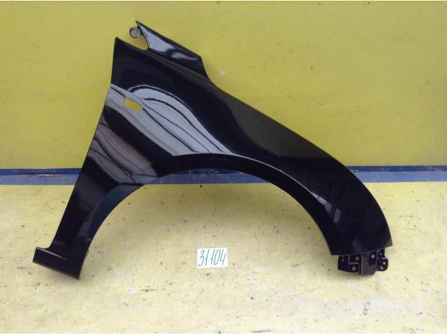 Chevrolet Cruze J300 Крыло переднее правое под повторитель цвет черный код краски GAR