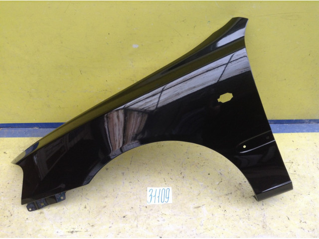 Hyundai  Accent Крыло переднее левое цвет черный код краски D01