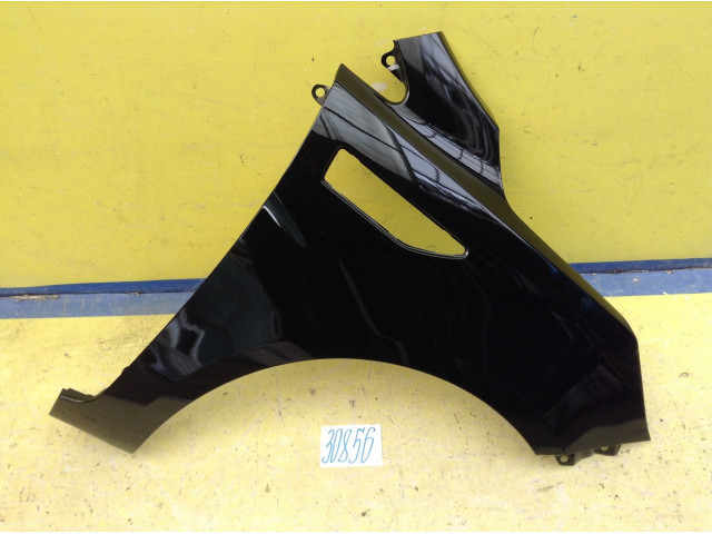 Kia Rio 3 Крыло переднее правое цвет Черный код краски MZH