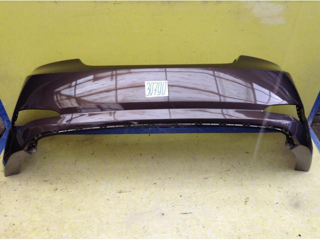 Hyundai Solaris рестайлинг Бампер задний цвет Коричневый код краски VC5