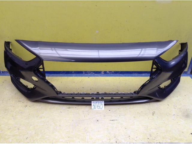 Hyundai Solaris Бампер передний цвет Серый код краски SAE