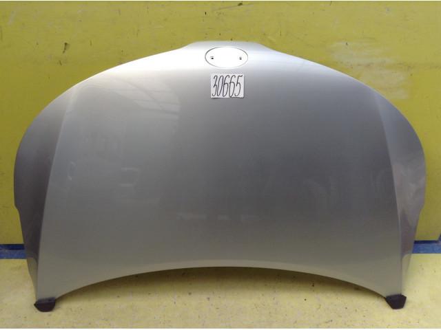 Kia Rio 3 Капот с герметиком цвет серебристый код краски RHM