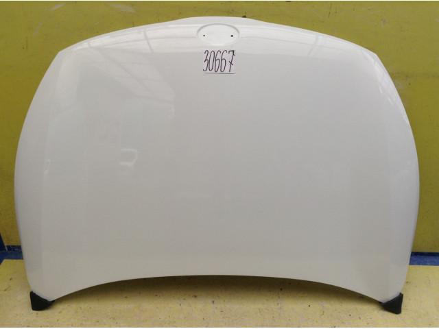 Kia Rio 4 Капот с герметиком цвет Белый код краски PGU