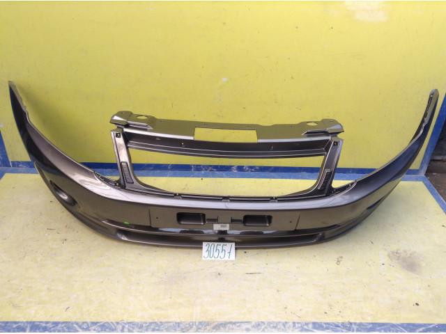 Lada Granta Бампер передний без отверстия под ПТФ цвет Кориандр