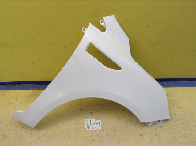 Kia Rio 3 Крыло переднее правое цвет белый код краски PGU