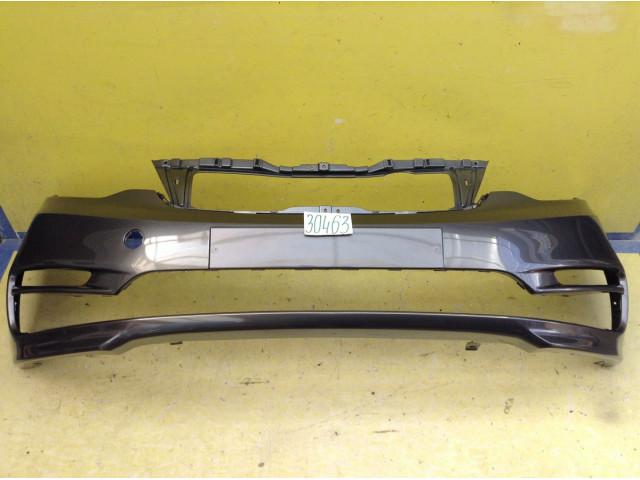 Kia Rio 3 рестайлинг Бампер передний цвет серый код краски SAE