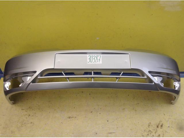 Daewoo Nexia N150 рестайлинг Бампер передний цвет серебристый код краски GAN