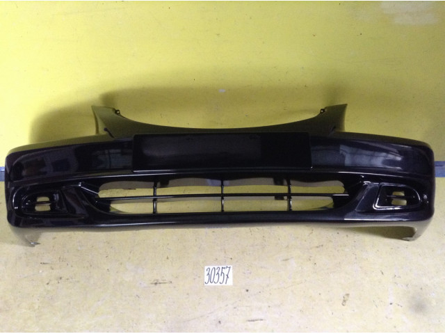 Hyundai Accent Тагаз бампер передний цвет черный код краски DO1