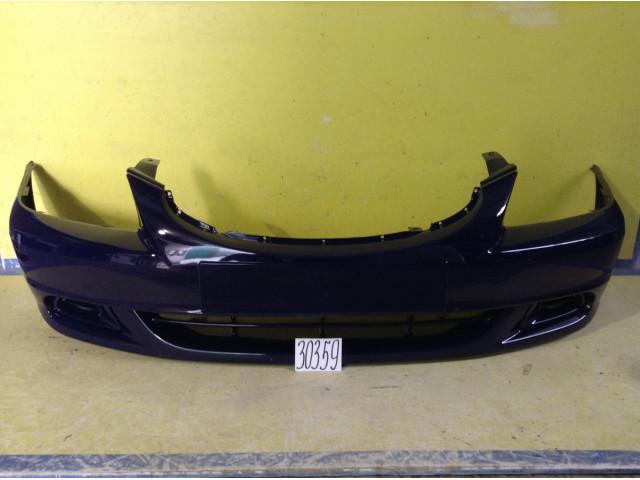 Hyundai Accent Тагаз бампер передний цвет темно-синий фиолетовый код краски B02