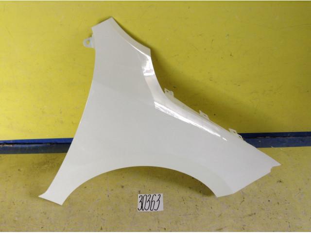 Skoda Rapid крыло переднее правое цвет белый код краски LC9A