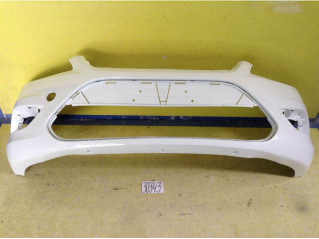 Ford Focus 2 Бампер передний цвет белый код краски 7VTA