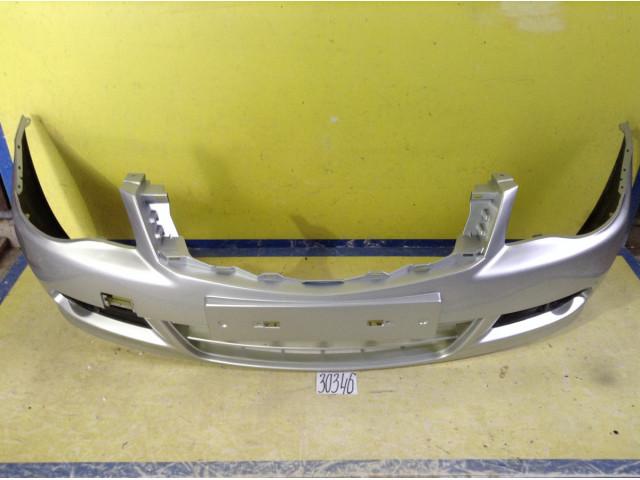 Nissan Almera G15 Бампер передний цвет платина серебро  код краски 691