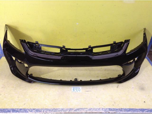 Kia Rio 4 Бампер передний цвет черный код краски MZH