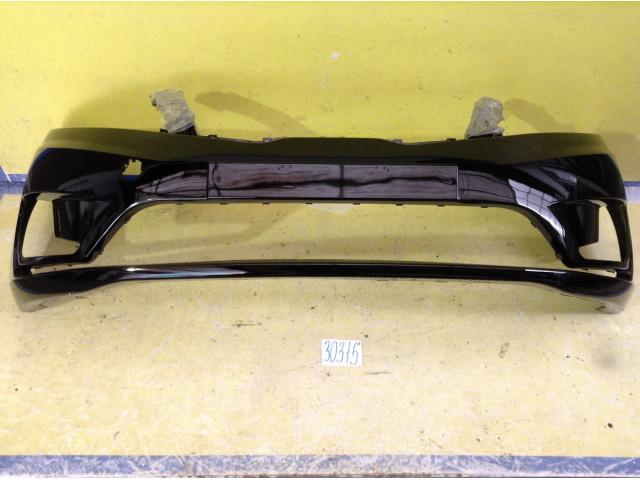Kia Rio 3 Бампер передний цвет черный код краски MZH
