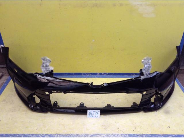 Toyota Camry 55 Бампер передний цвет черный