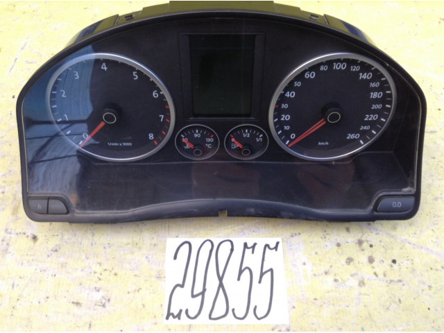 Volkswagen Tiguan МКПП панель приборов