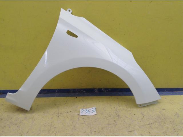 Hyundai Solaris Крыло переднее правое под повторитель код краски PGU белый