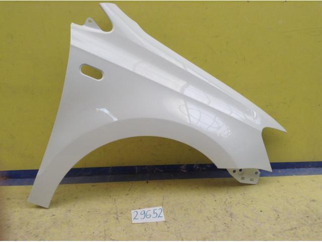Volkswagen Polo Крыло переднее правое под повторитель код краски LC9A белый
