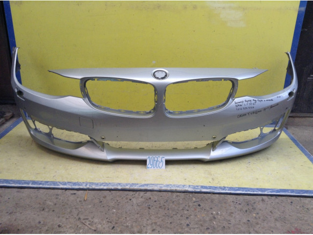 BMW 3 F34 Grant Turismo Бампер передний под омыватели, парктроник Аpr
