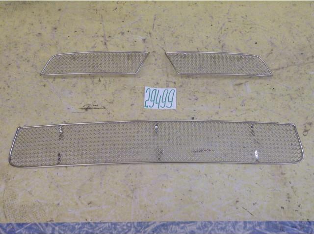 Mitsubishi Lancer Защита радиатора накладки решетки радиатора