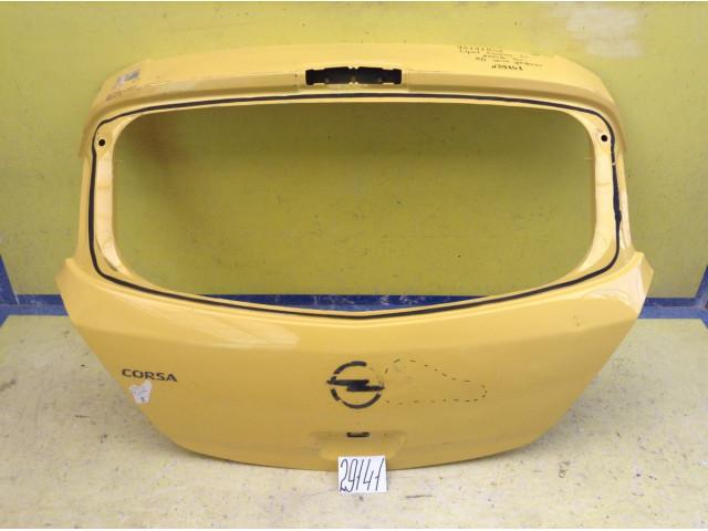 Opel Corsa D крышка багажника