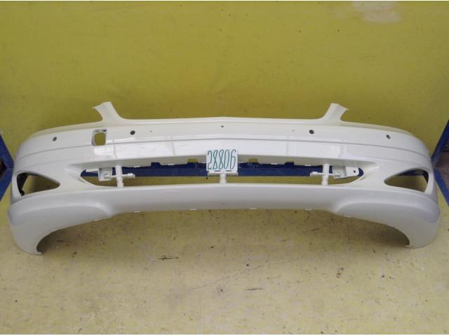 Mercedes Benz S W221 до рестайлинга бампер передний белый перламутр