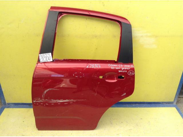 Citroen C3 дверь задняя левая