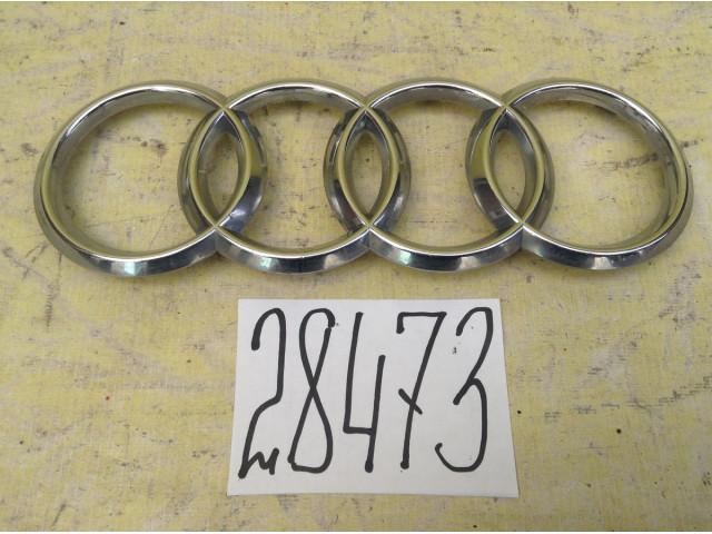 Audi A1 эмблема решетки радиатора