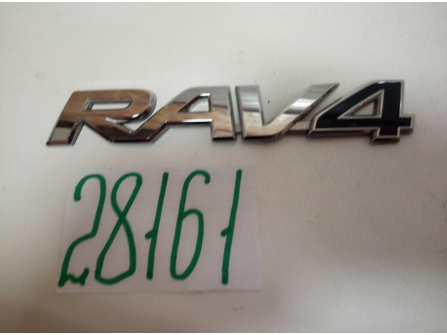 Toyota Rav4 эмблема шильдик двери багажника