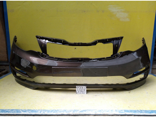 Kia Rio 3 рестайлинг бампер передний