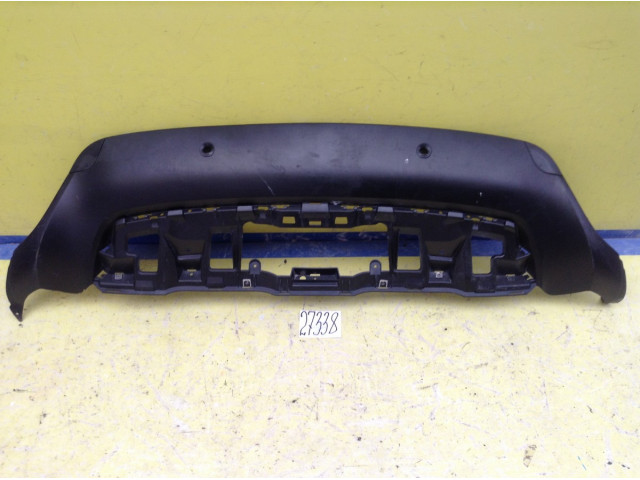 BMW X6 E71 Юбка Губа заднего бампера