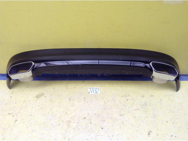 Volvo XC60 Юбка заднего бампера в сборе с насадками на глушитель