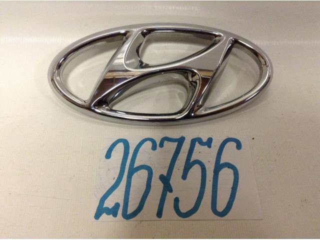 Hyundai Tucson эмблема шильдик