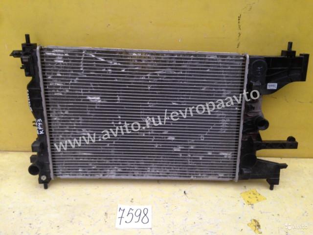 Chevrolet Cruze Радиатор охлаждения