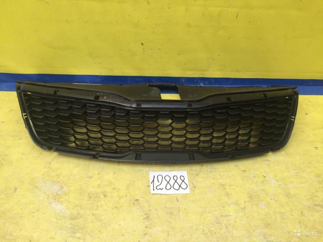 Kia Rio 3 Рестайлинг Решетка радиатора
